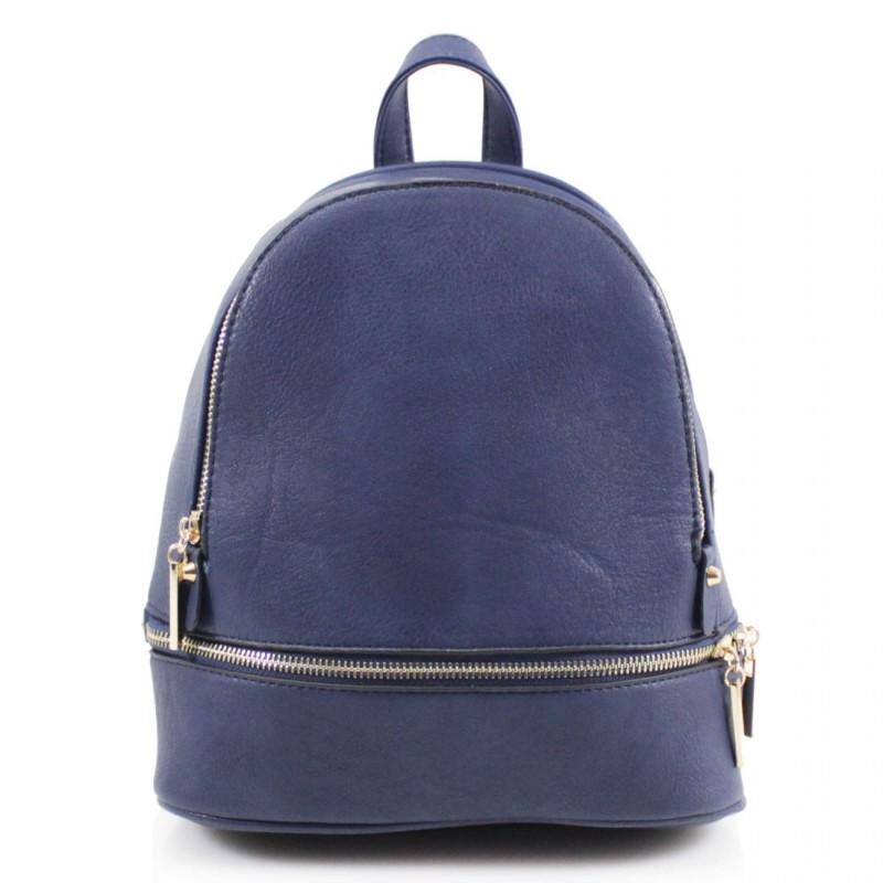 Multi Section Backpack - Navy