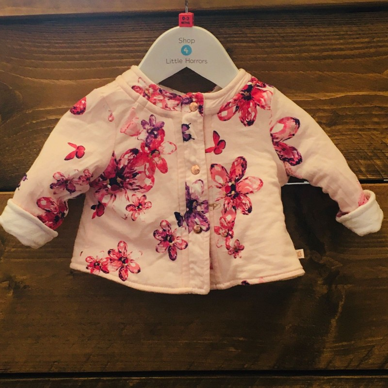 TED BAKER GIRLS REVERSIBLE JACKET 0-3M