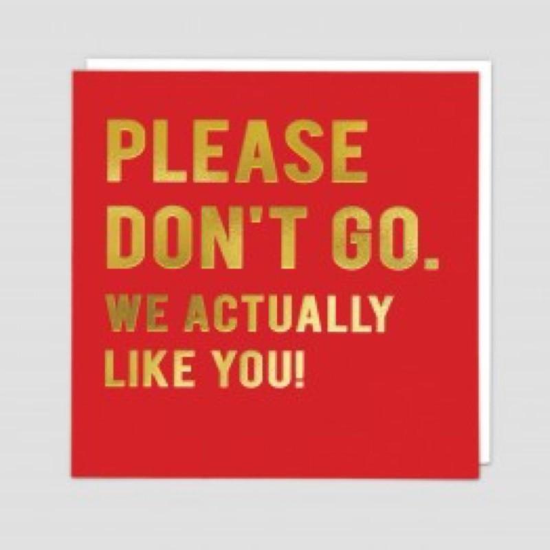 Don't Go (CLN125)