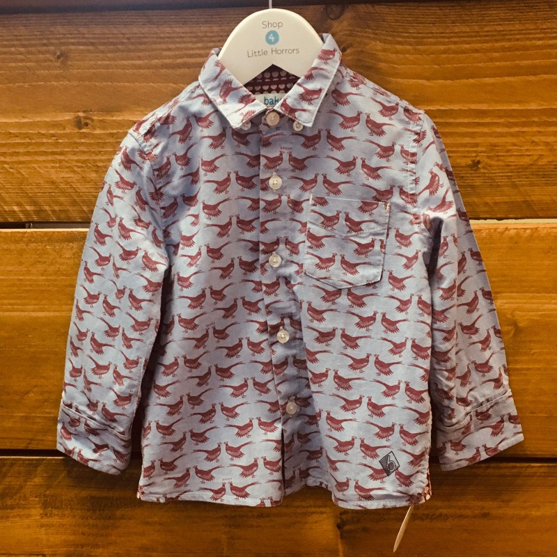 TED BAKER SHIRT 2-3YRS
