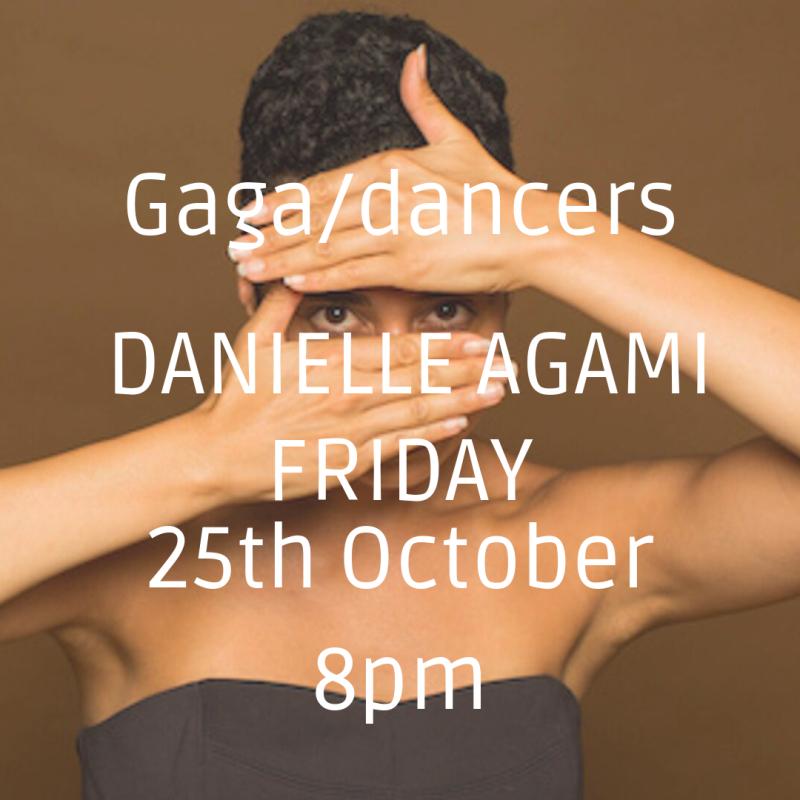 Gaga/dancers CLASS with Danielle Agami