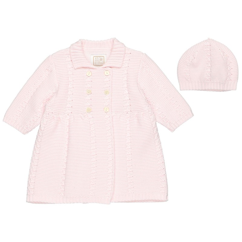 Emile et Rose Romily Knitted Jacket & Hat