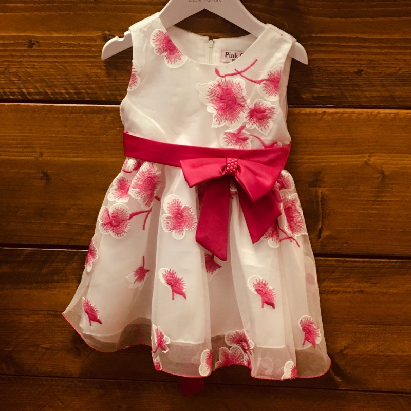 PINK LAYERED PARTY DRESS BNWT 18M