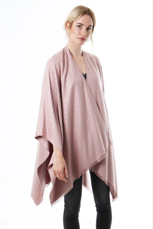 Scattered Stud Cape - Pink