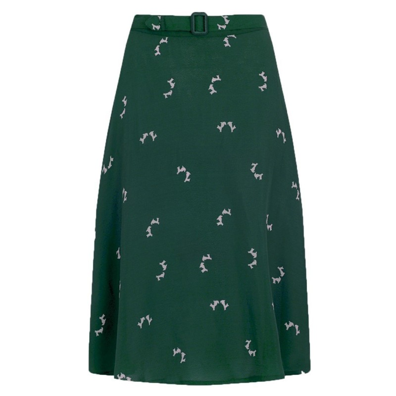 Green Doggy Skirt