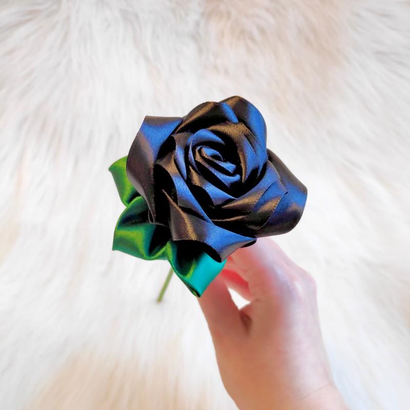 Black Satin Rose