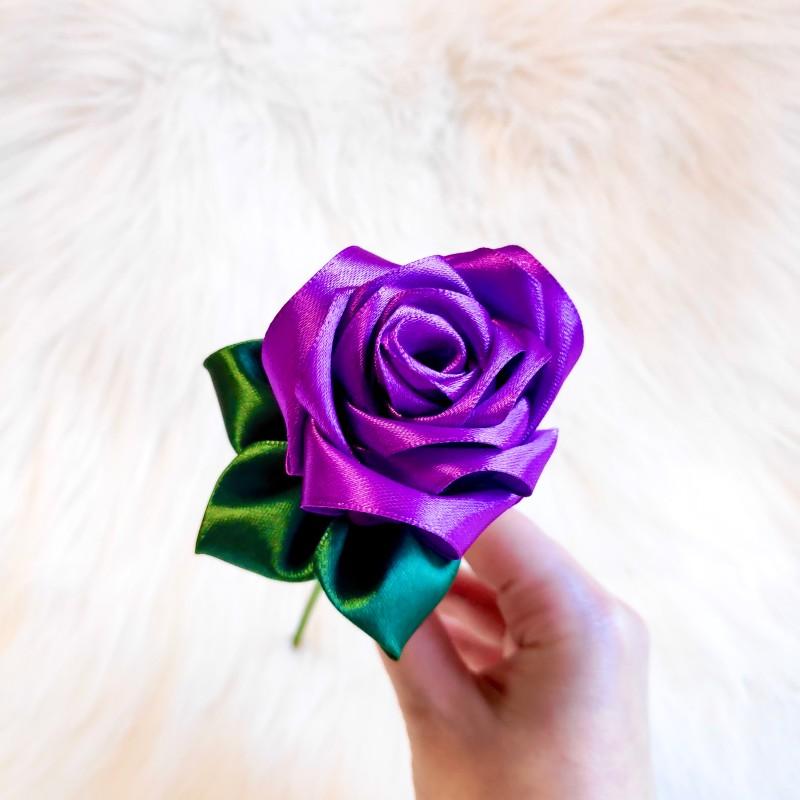 Purple Satin Rose
