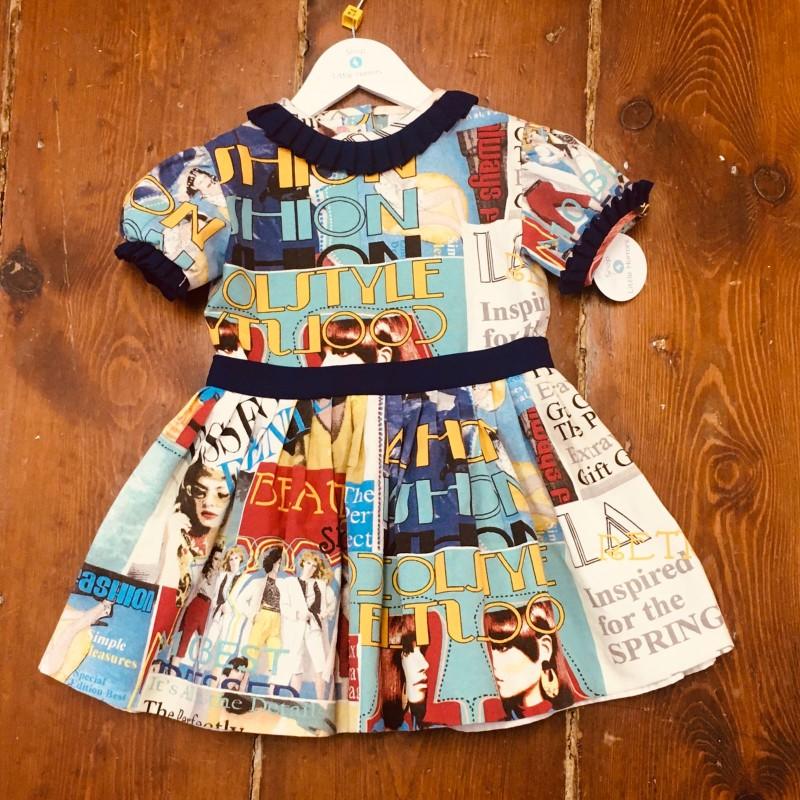 LA AMAPOLA DRESS 6YR