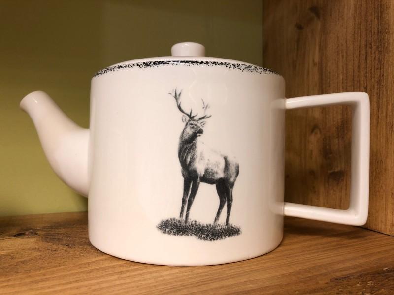 Stag teapot
