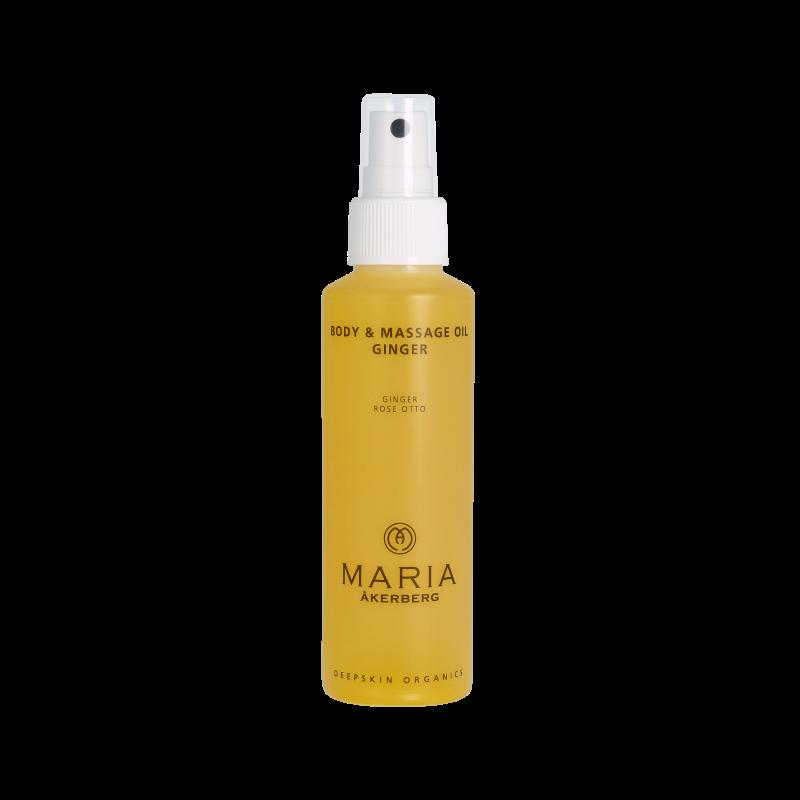 Body & Massage Oil Ginger 125 ml*
