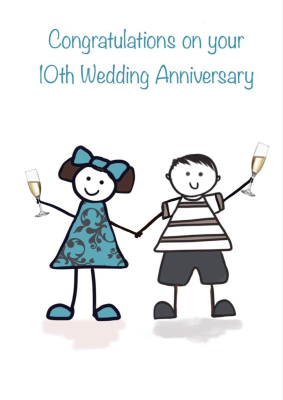 10th Wedding Anniversary (FDE29)