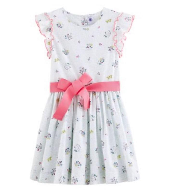 Petit Bateau Flower Dress