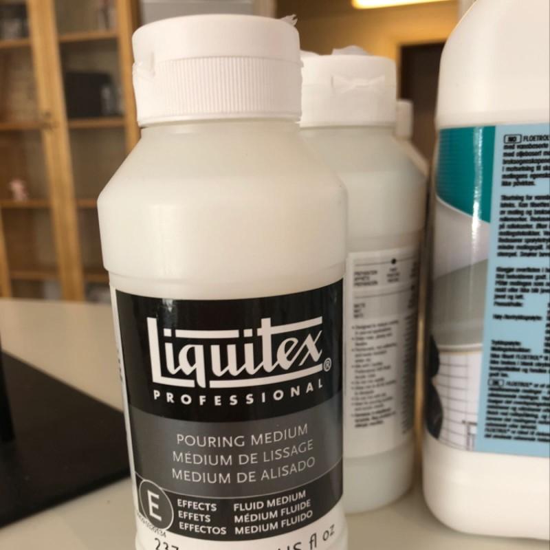 Liquidtex pouringmedium