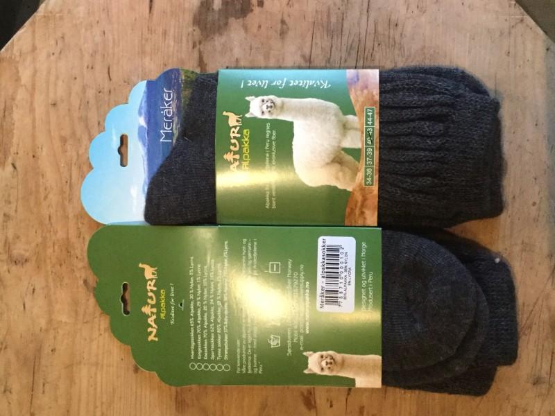 NaturAlpakka Meråker sokk