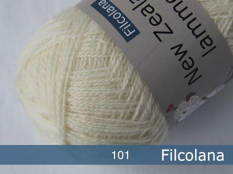Filcolana Saga New Zealand lammeuld x 100g hespe ullgarn
