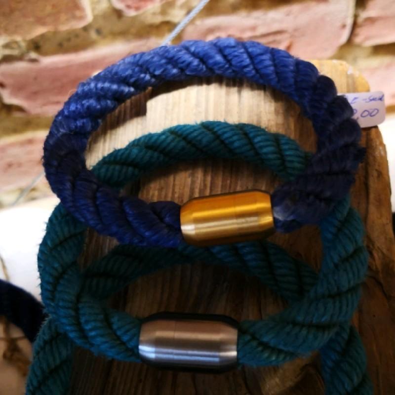 Fischereidesign  - Armband Edelstahlverschluss