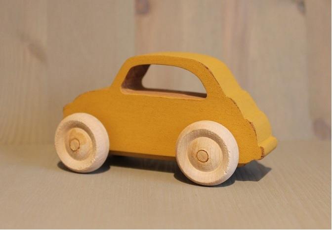 Treleke F 500, gul