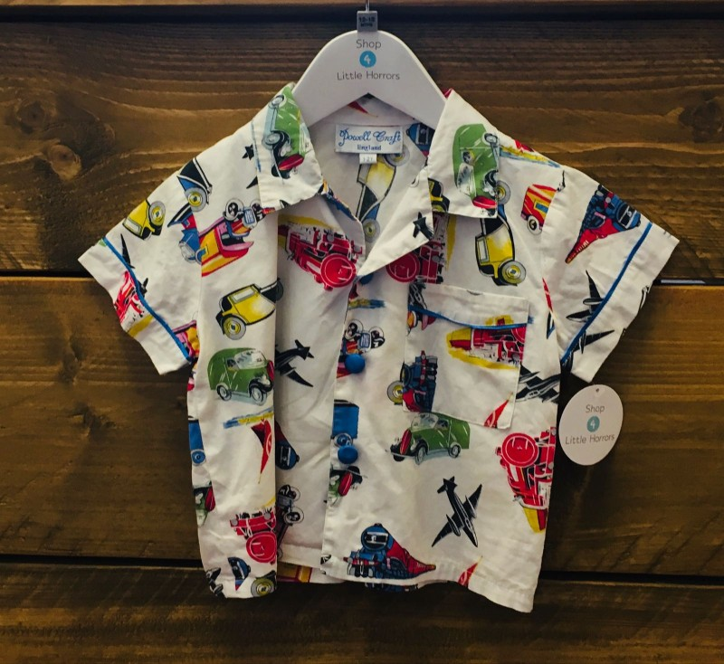 POWELL CRAFT SHIRT 1-2YR