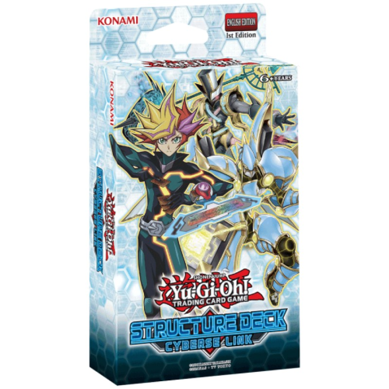 Yu-Gi-Oh Cyberse Link Structure Deck