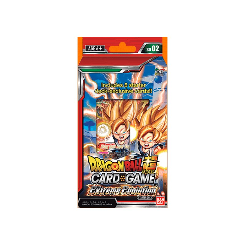 DBS Card Game: Starter Deck The Extreme Evolution