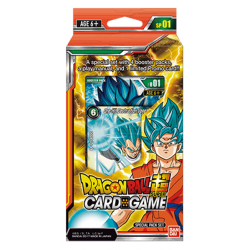 DBS Card Game Special Pack Set: Galactic Battle