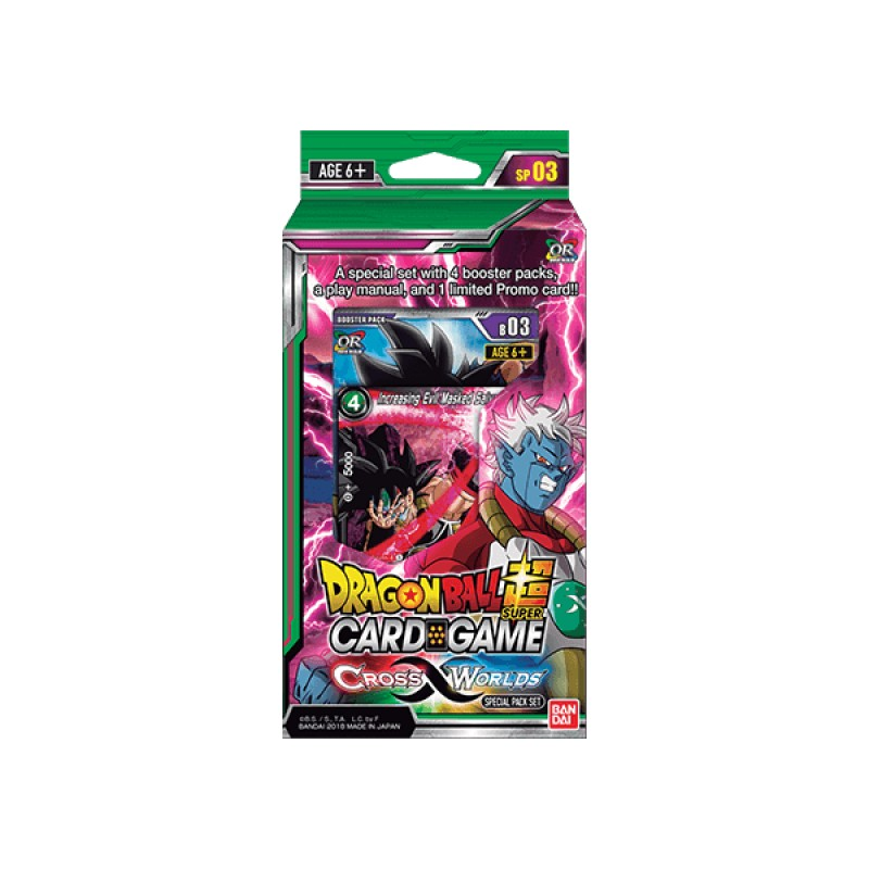 DBS Card Games Cross Worlds Special Pack
