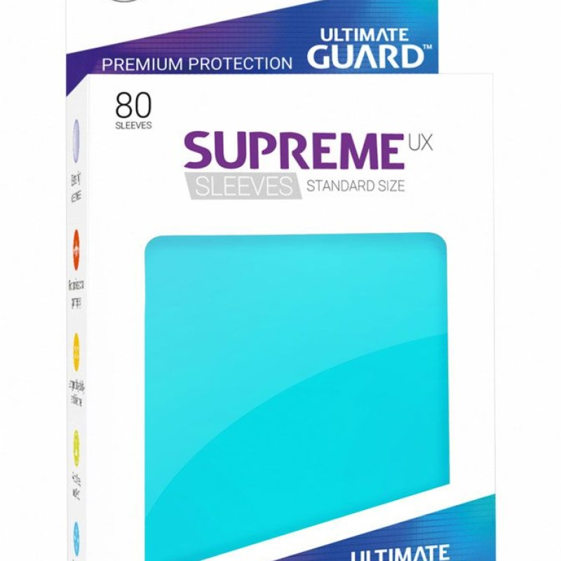 Ultimate Guard Supreme UX Sleeves Standard Size 80 (Various Colours)