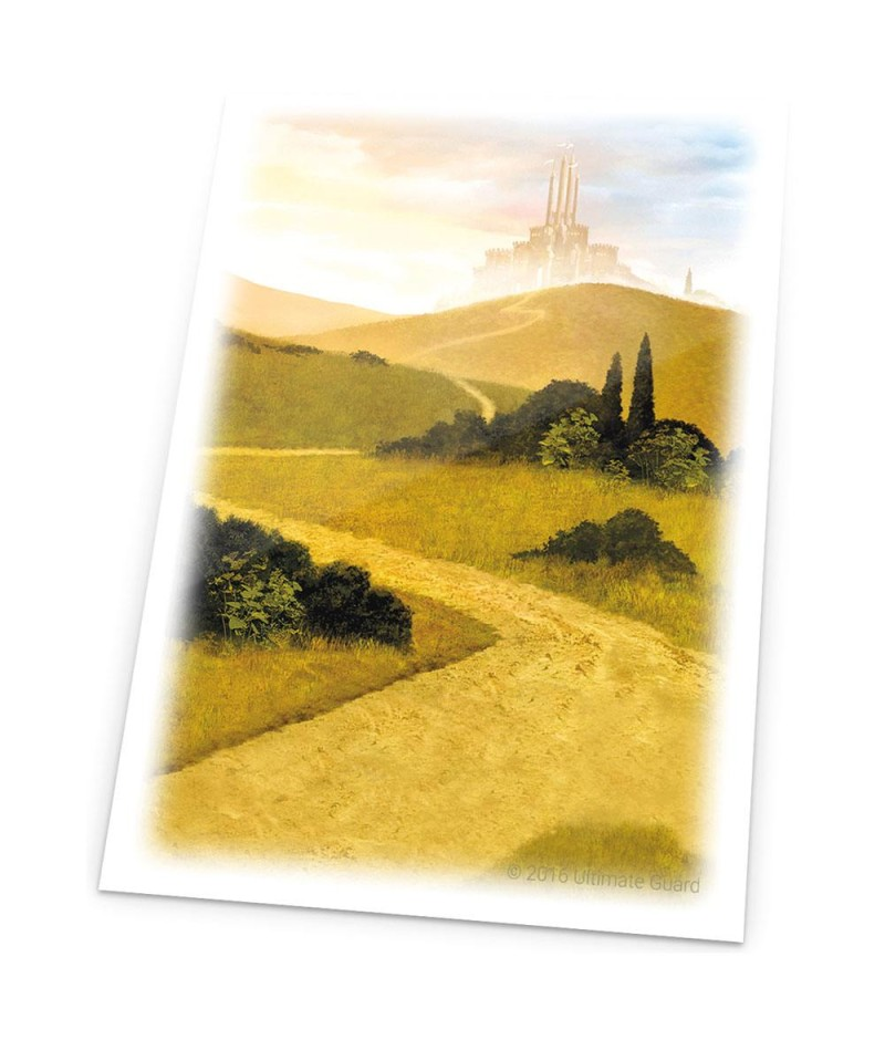Ultimate Guard Printed Sleeves Standard Size Lands Edition 80 (Various Arts)