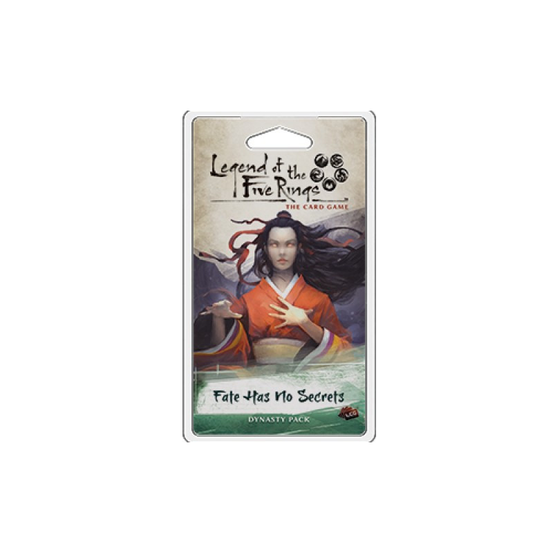 Legend of the Five Rings: Dynasty Pack - Fate Has No Secrets