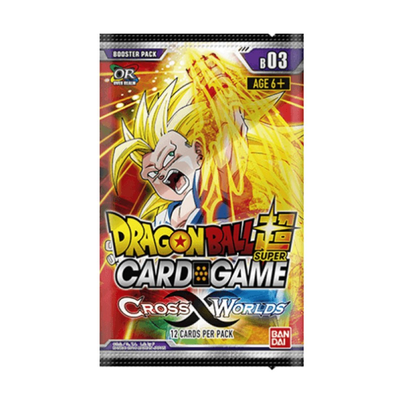 DBS Card Game Cross Worlds Booster