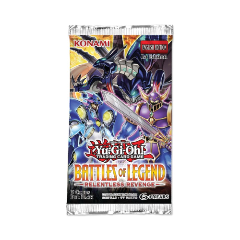 Yu-Gi-Oh Battles of Legend Relentless Revenge Booster