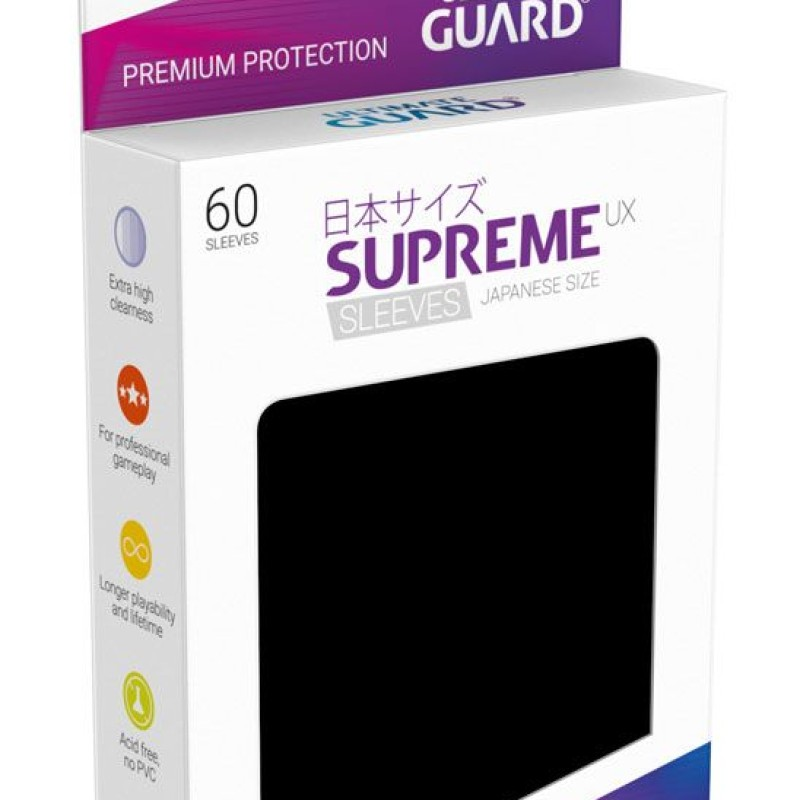 Ultimate Guard Supreme UX Sleeves Japanese Size (Various Colours)