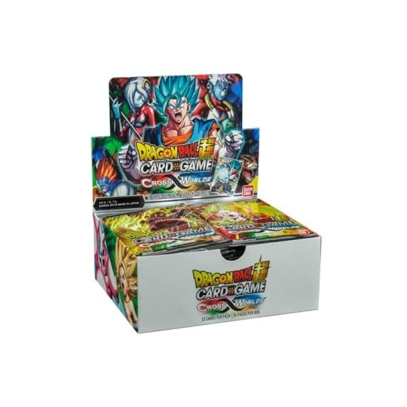 DBS Card Game Cross Worlds Box
