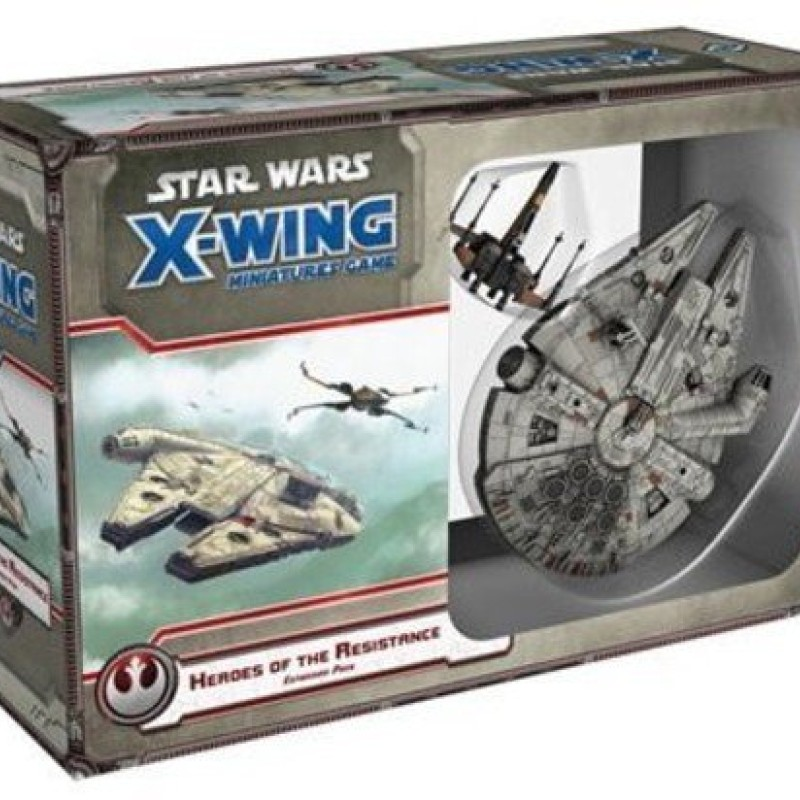 Star Wars X-Wing Heroes of the Resistance Expansion Pack