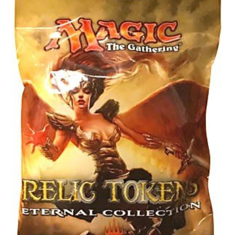 Ultra Pro Magic: The Gathering Eternal Collection Relic Tokens, One Pack (3 Tokens Per Pack)