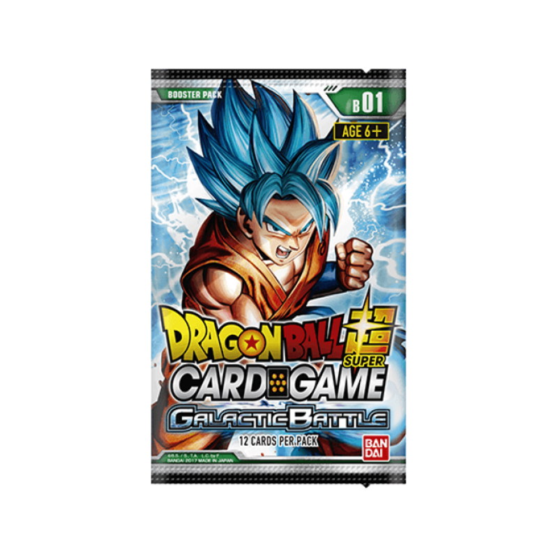 DBS Card Game Galactic Battle Booster