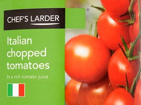 Tomatoes chopped *800g* tin