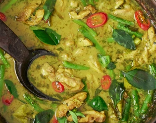 WFT 03 Thursday Thai Green Curry (With Chicken)