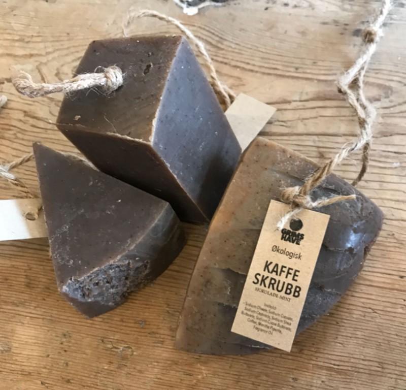 Kaffesåpe sjokolade-mint