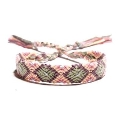 Justdlux- Wowen bracelet - Rose