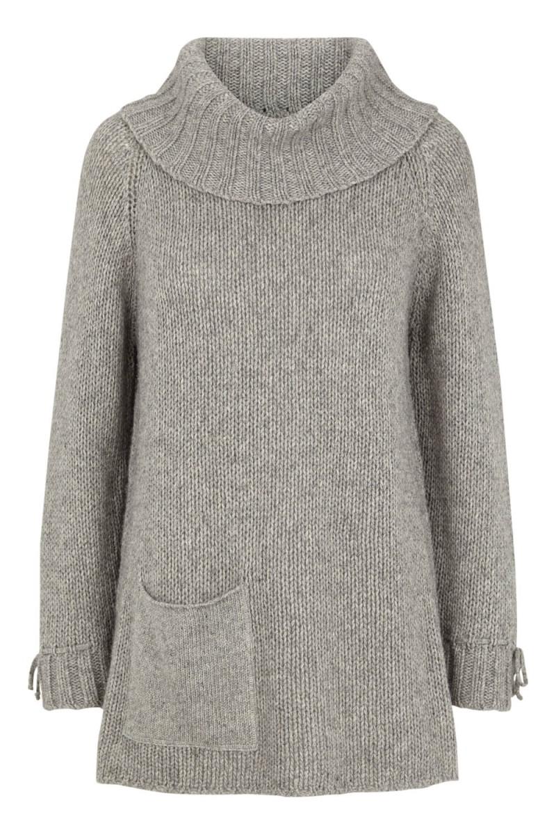 Tina Wodstrup - Cashwool sweater Light grey