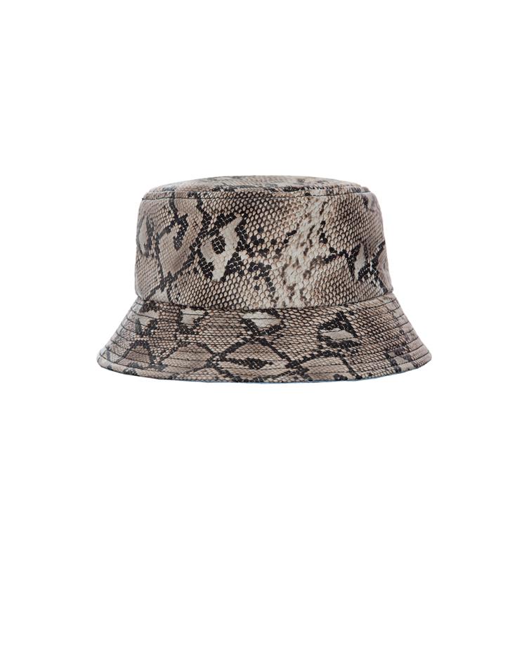 Hosbjerg MALLE SNAKE BUCKET HAT