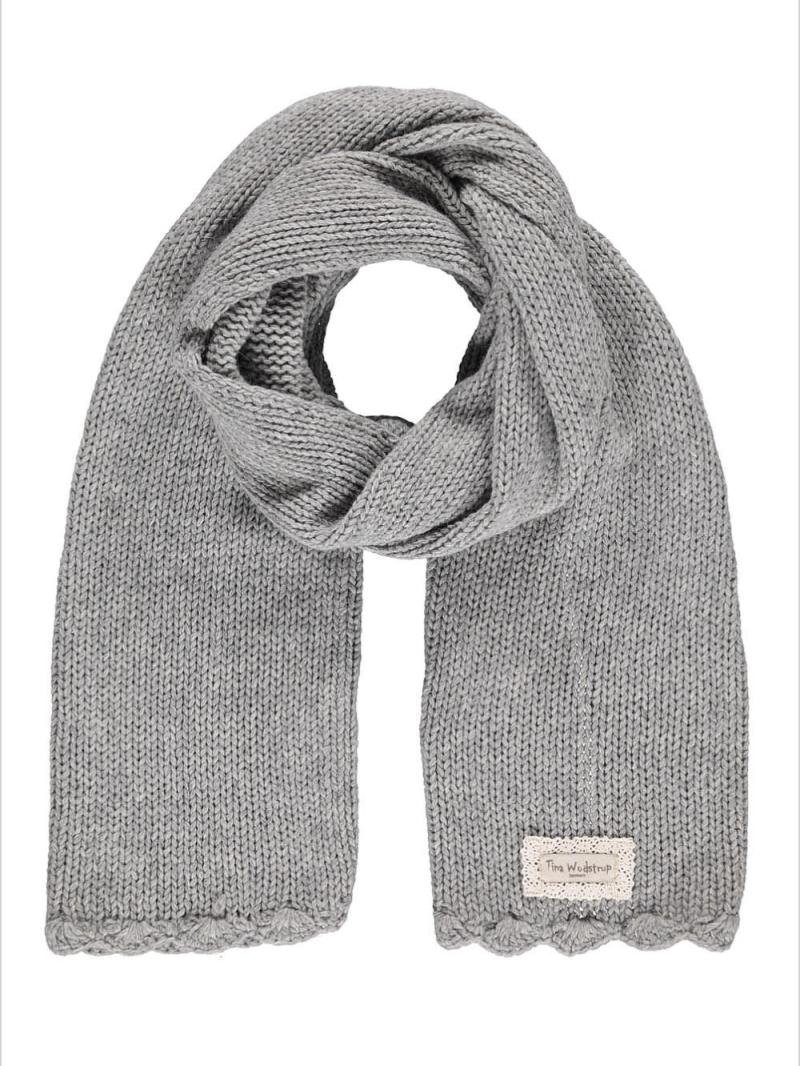 Tina Wodstrup - Cashwool scarf w.crochet