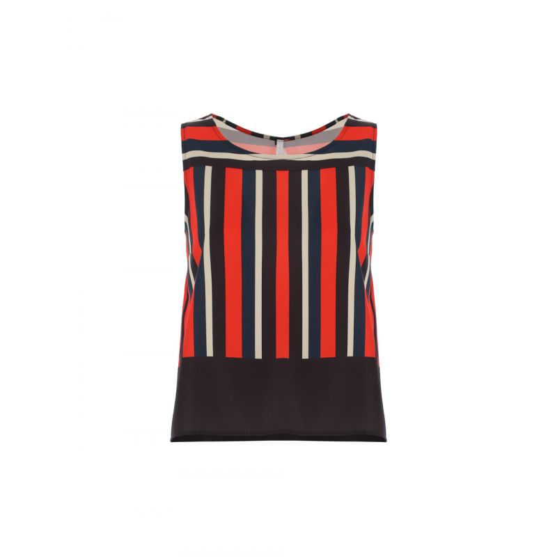 Imperial - fluid striped top