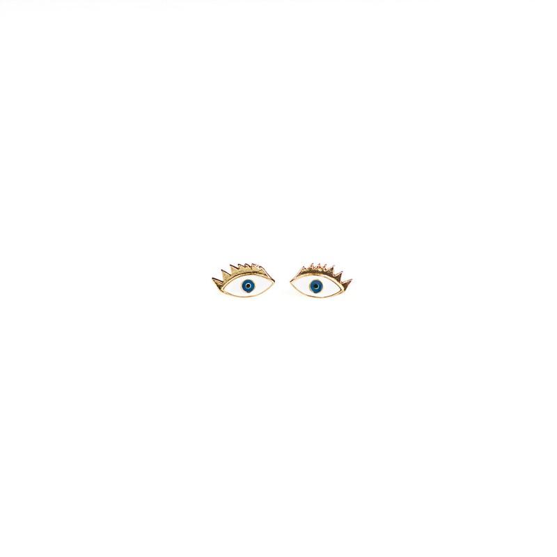 Plissé Copenhagen - Eye Enamel earpost