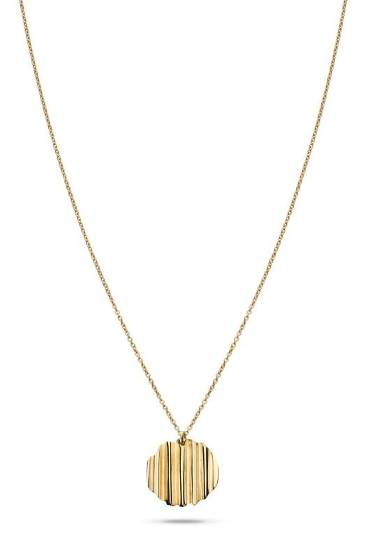 Jukserei round chips necklace