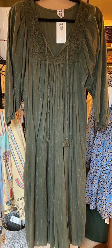 Stjal - grøn kjole