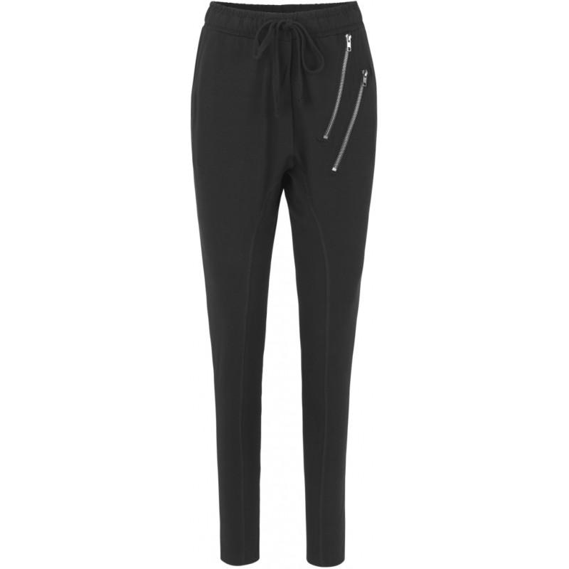 Comfy Copenhagen - Beds are burning (Black Zipper) (pants)