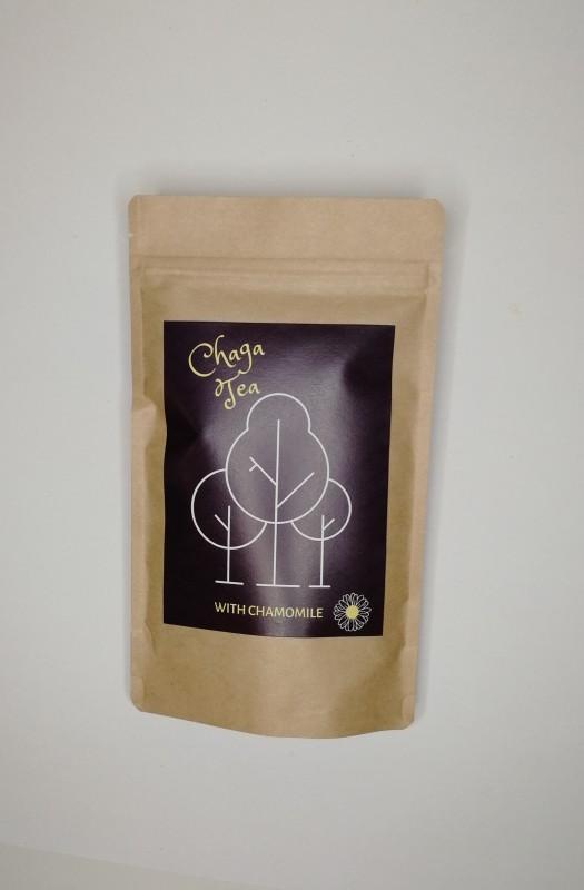 Pakuritee: kamomilla 100g /Chaga tea: chamomile