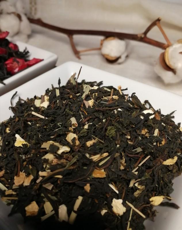 Maitohorsma tee: sitruuna ja inkivääri 40g / Ivan tea with lemon and ginger